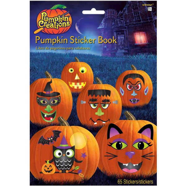 Pumpkin Sticker Book